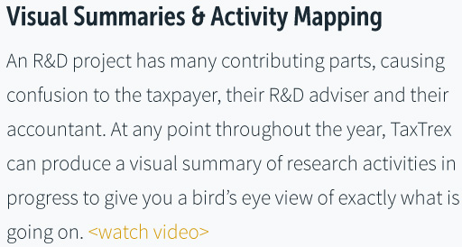 Visual Summaries & Activity Mapping