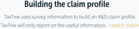 Building the claim profile