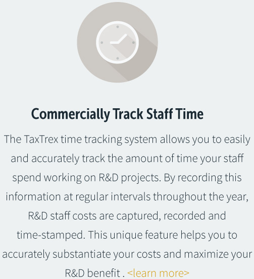 Commercially Track Staff Time